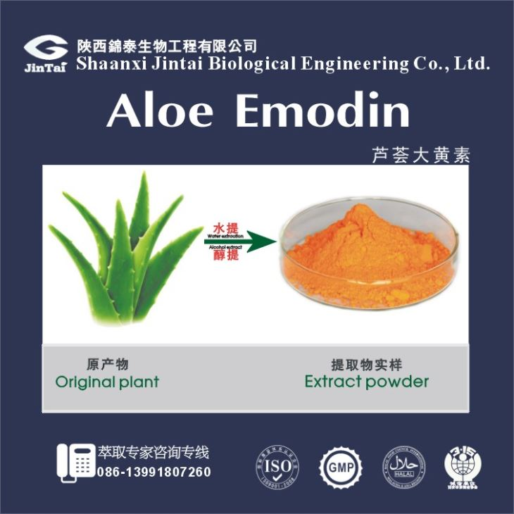 Aloe Vera Plant extract High quality & competitive price Aloin A 20% Emodin 50% Diacerein 98%